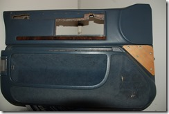 Replacing the Roadmaster wagon interior. This old door panel has to go.