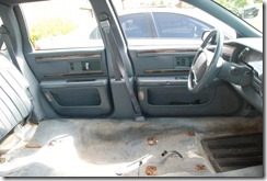Replacing the Roadmaster wagon interior. Big enough for a barn dance.